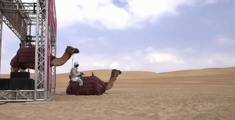 Nissan Middle East just Introduced Desert Camel-Power