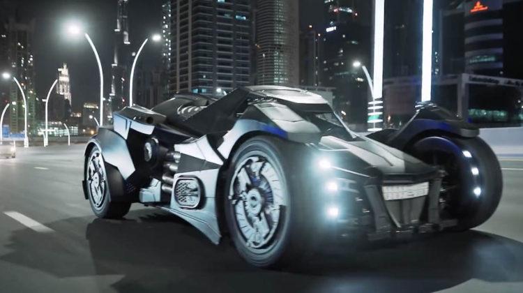 Batmobile Spotted in Dubai