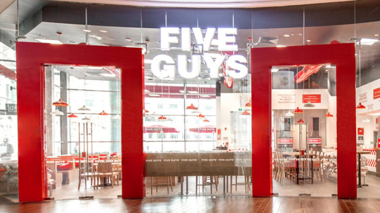 Five Guys & Tim Hortons Charging Dhs 1,500 & Dhs 2,000 For NYE Fireworks